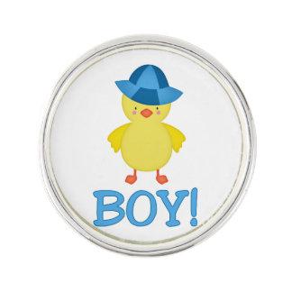 Pin's C'est un casquette de bleu de Duckie de bébé