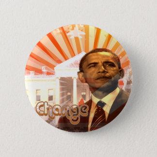 Pin's Changement d'Obama