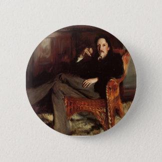 Pin's Chanteur Sargent- Robert Louis Stevenson de John