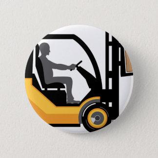Pin's Chariot élévateur jaune