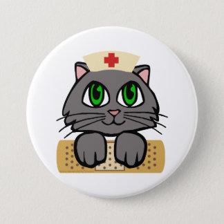 Pin's Chaton d'infirmière