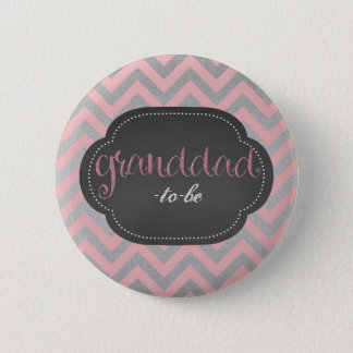 Pin's Chic rose grand-papa-à-est bouton