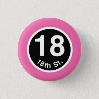 Pin's Chicago L 18ème ligne rose de St