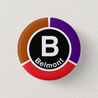 Pin's Chicago L rouge de Belmont/Brown/ligne des