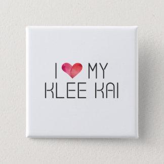 Pin's Citation d'amour de Klee Kai