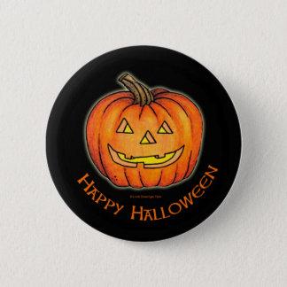 Pin's Citrouille heureux de Halloween