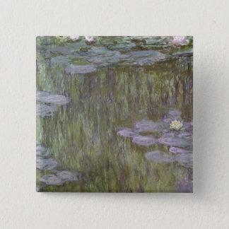 Pin's Claude Monet | Nympheas chez Giverny, 1918