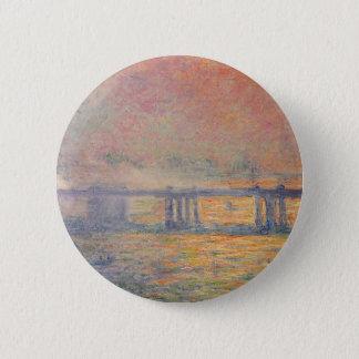 Pin's Claude Monet - Saint Louis de pont croisé de