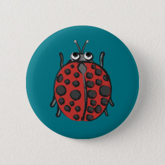 Pin's Coccinelle heureuse