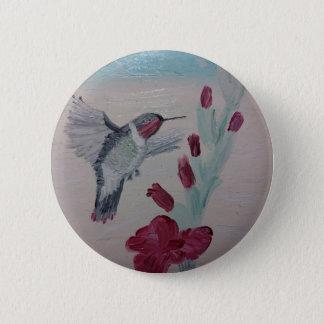 Pin's Colibri douceurs de peinture à l'huile '