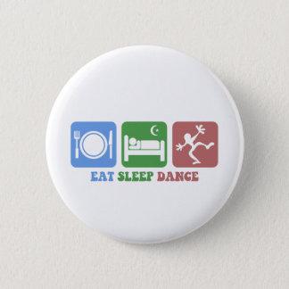 Pin's Coloré mangez la danse de sommeil