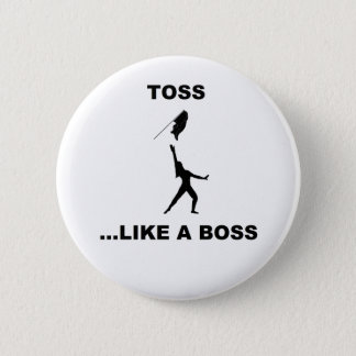 Pin's Comme un bouton de patron