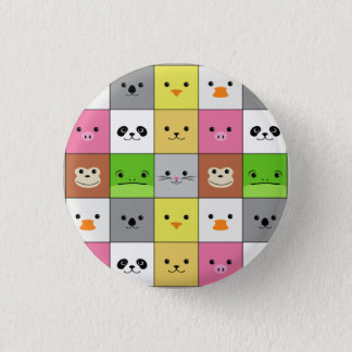 Pin's Conception animale colorée mignonne de motif de