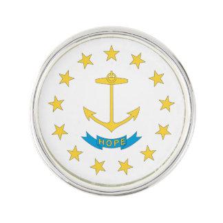 Pin's Conception de drapeau d'ÎLE DE RHODE -