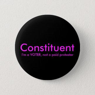 Pin's Constituant pas un bouton politique de