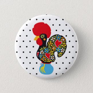 Pin's Coq célèbre de Barcelos Nr 06 - pois