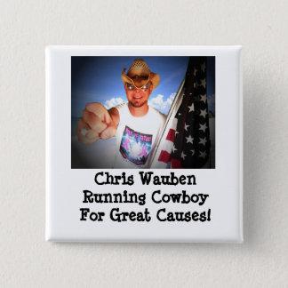 Pin's Cowboy courant de Chris Wauben pour le grand
