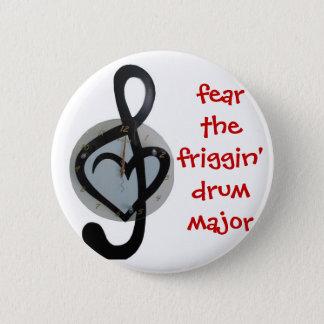 Pin's craignez le commandant de tambour