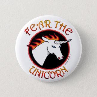 Pin's Craignez le Pin de bouton de licorne