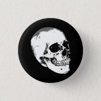 Pin's Crâne gothique vintage