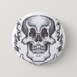 Pin's Crâne peu précis