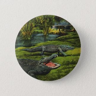 Pin's Crocodiles vintages, animaux de reptiles d'espèce