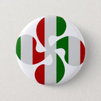 Pin's Croix Basque Multicouleurs