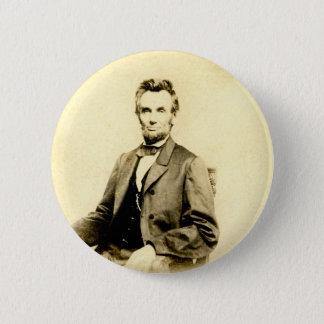Pin's CRU RARE du Président Abraham Lincoln STEREOVIEW