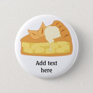 Pin's Customisez ce graphique de tranche de tarte aux
