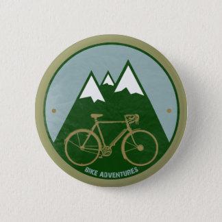 Pin's cyclistes aventure, montagnes