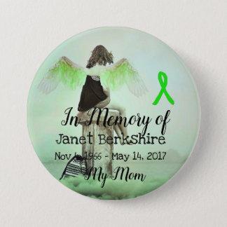 Pin's Dans la mémoire de mon bouton de mémorial de Lyme