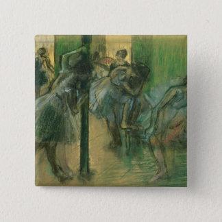 Pin's Danseurs d'Edgar Degas | préparant