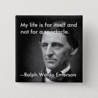 Pin's De l'indépendance Ralph Waldo Emerson d'essai