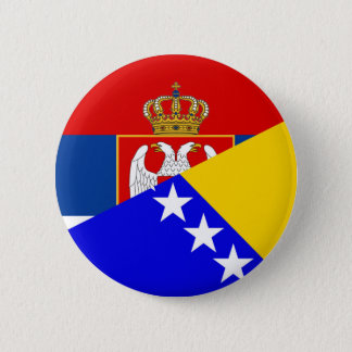 Pin's de symbole de pays de drapeau de la Serbie