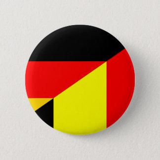Pin's demi de symbole de pays de drapeau de l'Allemagne