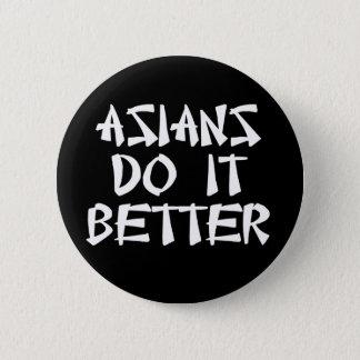 Pin's Des Asiatiques il améliorent