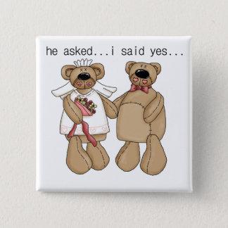 Pin's Des ours j'ai dit oui des T-shirts et des cadeaux