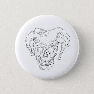 Pin's Dessin de crâne de farceur de cour