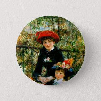 Pin's Deux soeurs sur la terrasse par Renoir
