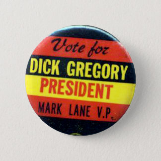 Pin's Dick Gregory - bouton