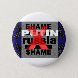 Pin's Dictateur Voilent D antisocial de POUTINE Russie