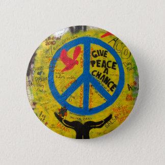 Pin's Donnez à paix une occasion