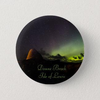 Pin's Doune Broch, île de petit insigne de Lewis et