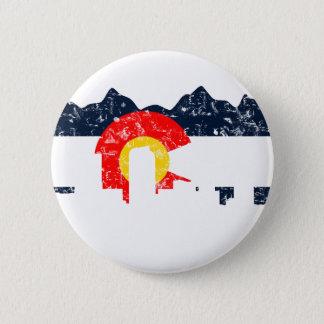 Pin's Drapeau de Denver le Colorado