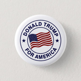 Pin's Drapeau de Donald Trump USA