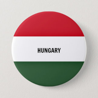 Pin's Drapeau de la Hongrie, marqué