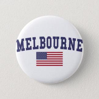 Pin's Drapeau de Melbourne USA