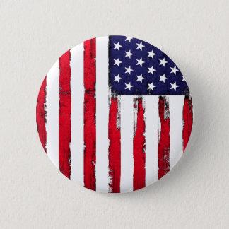 Pin's Drapeau grunge patriotique américain