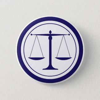 Pin's Échelles bleues de silhouette de justice