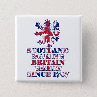 Pin's Écossais et britannique fiers